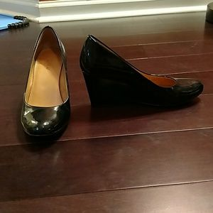 J. Crew Patent Leather Wedges